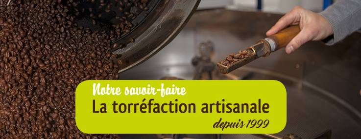 torréfaction artisanale de grands cafés