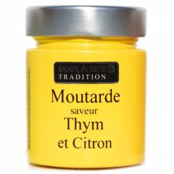Moutarde Thym & citron