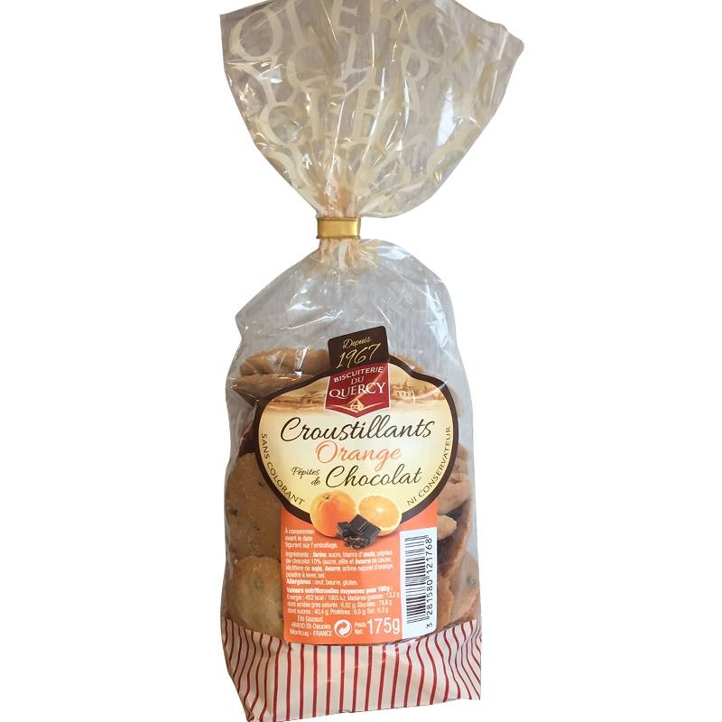 Croustillants Orange chocolat 175g