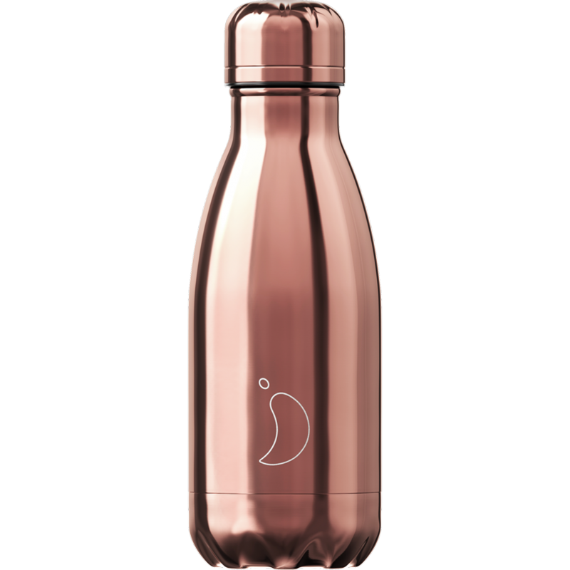 Bouteille isotherme Chrome 260 ml