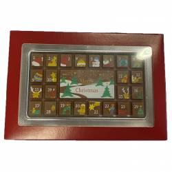 Calendrier avent chocolat 70g